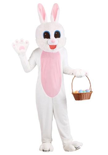 Fantasia de coelho da Páscoa de mascote tamanho plus size adulto – Adult Plus Size Mascot Easter Bunny Costume