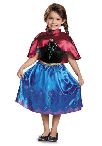 Fantasia de criança clássica Frozen Anna – Frozen Traveling Anna Classic Toddler Costume
