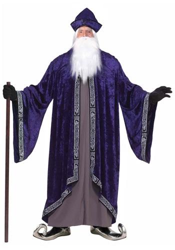 Fantasia de feiticeiro real plus size – Plus Size Royal Wizard Costume