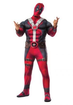 Fantasia de filme Deadpool Deluxe Plus Size – Plus Size Deluxe Deadpool Movie Costume