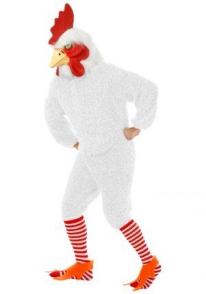 Fantasia de galo branco plus size –  Plus Size White Rooster Costume