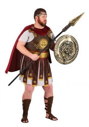 Fantasia de guerreiro romano adulto plus size – Adult Plus Size Roman Warrior Costume
