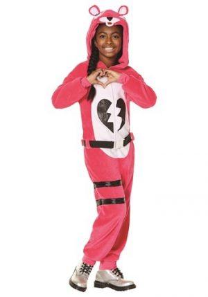 Fantasia de líder da equipe infantil Fortnite Cuddle – Kids Fortnite Cuddle Team Leader Costume