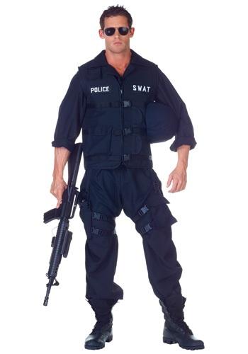 Fantasia de macacão Plus Size SWAT – Plus Size SWAT Jumpsuit Costume
