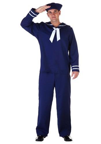 Fantasia de marinheiro azul plus size – Plus Size Blue Sailor Costume