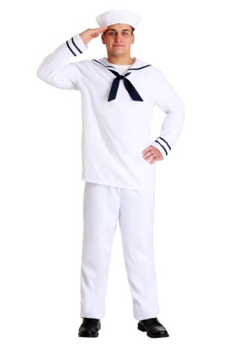 Fantasia de marinheiro masculino Plus Size – Plus Size Men's Sailor Costume