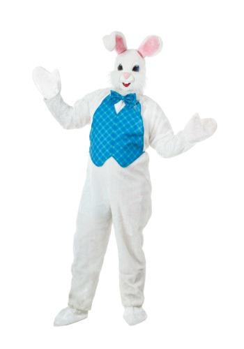Fantasia de mascote Plus Size do coelhinho da Páscoa – Plus Size Mascot Easter Bunny Costume