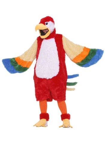 Fantasia de mascote de papagaio – Parrot Mascot Costume