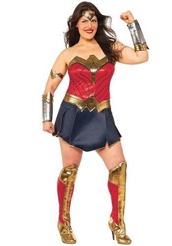 Fantasia de mulher maravilha plus size – Women's Wonder Woman Plus Size Costume