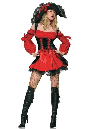Fantasia de pirata sexy  adulta – Adult Sexy Vixen Pirate Costume