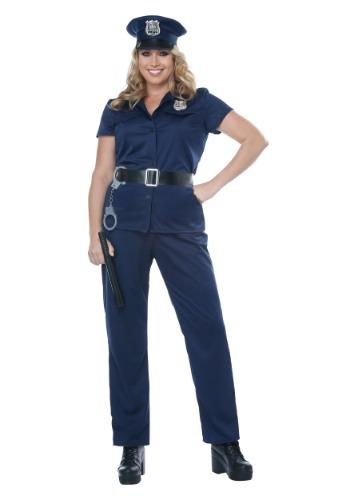 Fantasia de policial Plus Size – Plus Size Police Woman Costume