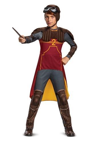Fantasia de quadribol de luxo de Harry Potter Kid Ron Weasley – Harry Potter Kid's Deluxe Ron Weasley Quidditch Costume