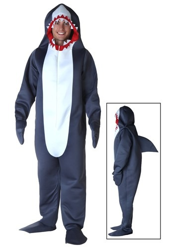 Fantasia de tubarão Plus SIze- Plus Size Shark Costume