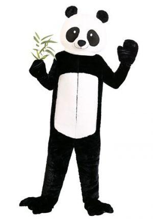 Fantasia de urso panda Plus Size- Plus Size Panda Bear Costume