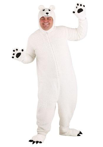 Fantasia de urso polar ártico PLus Size – Plus-Size Arctic Polar Bear Costume