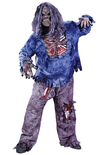 Fantasia de zumbi plus size – Plus Size Zombie Costume