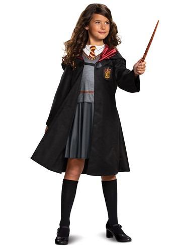 Fantasia feminina de Harry Potter Clássico Hermione – Girl's Harry Potter Classic Hermione Costume
