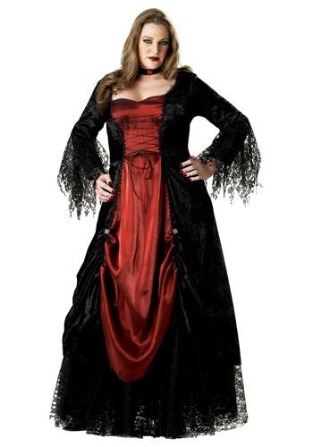 Fantasia feminina de vampiro Plus Size – Women's Plus Size Vampire Costume