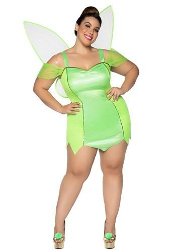 Fantasia feminino Fada Plus Size – Women's Pretty Pixie Plus Size Costume