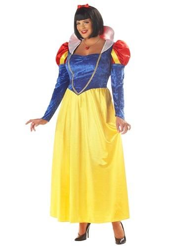 Fantasia feminino de branca de neve Plus SIze – Plus Size Women's Snow White Costume