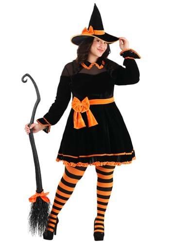 Fantasia feminino de bruxa crafty plus size – Plus Size Crafty Witch Women's Costume