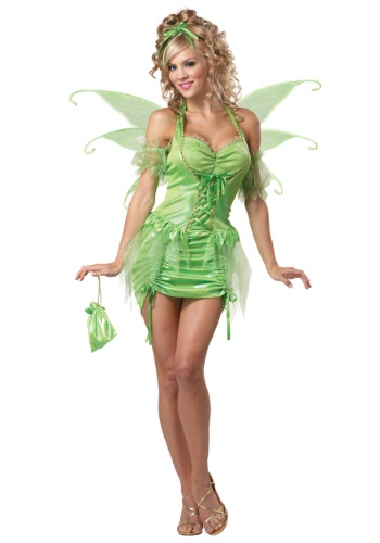 Fantasia feminino de fada Tinkerbell Plus Size – Women's Plus Size Tinkerbell Fairy Costume
