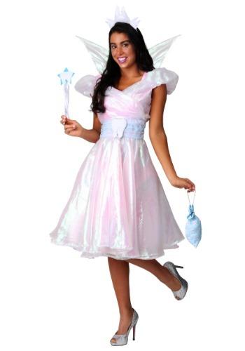 Fantasia  feminino de fada do dente Plus Size – Women's Plus Size Tooth Fairy Costume
