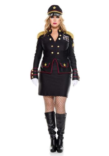 Fantasia feminino general militar Plus size – Plus Size Military General Women's Costume