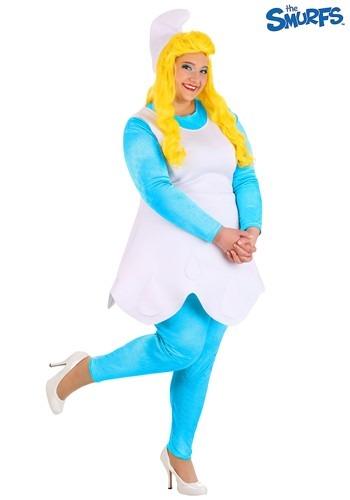 Fantasia feminino plus size Smurfs Smurfette – Women's Plus Size The Smurfs Smurfette Costume