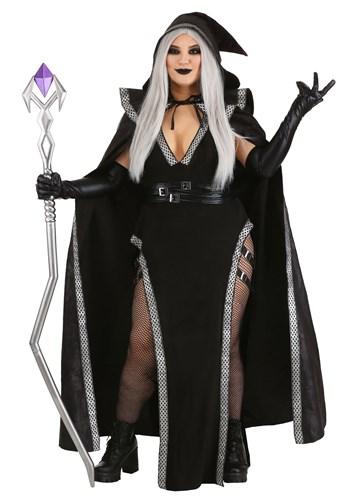 Fantasia feminino plus size  de feiticeira – Women's Plus Size Enchanted Warlock Costume