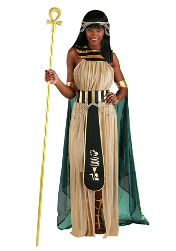 Fantasia feminino poderoso Cleópatra Plus Size – All Powerful Cleopatra Plus Size Women's Costume