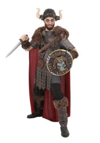 Fantasia lendário de guerreiro viking Plus Size – Plus Size Legendary Viking Warrior Costume