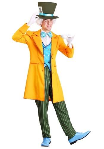 Fantasia masculina clássica do Chapeleiro Maluco Plus size – Men's Plus Size Classic Mad Hatter Costume