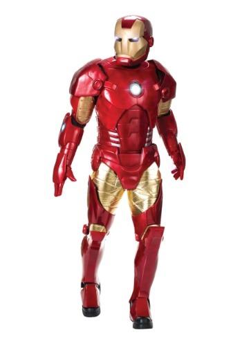 Fantasia masculina da edição suprema do homem de ferro- Men's Supreme Edition Iron Man Costume