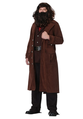 Fantasia masculina de Harry Potter Deluxe Hagrid Plus Size – Harry Potter Deluxe Hagrid Plus Size Men's Costume