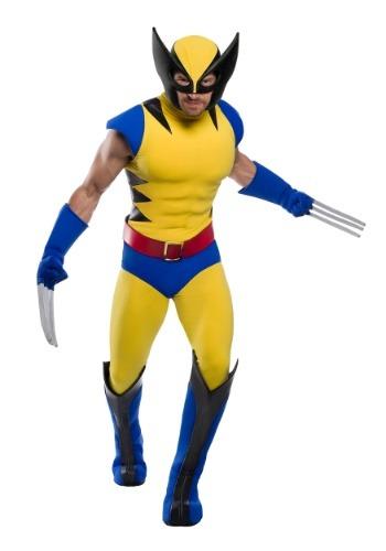 Fantasia  masculino Premium Marvel Wolverine Plus Size – Premium Marvel Wolverine Plus Size Men's Costume