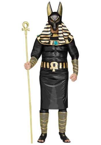 Fantasia masculino adulto anúbis plus size – Adult Men's Anubis Plus Size Costume