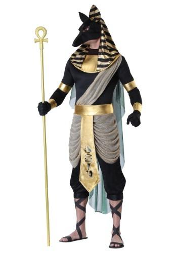Fantasia masculino anúbis plus size – Men's Anubis Plus Size Costume
