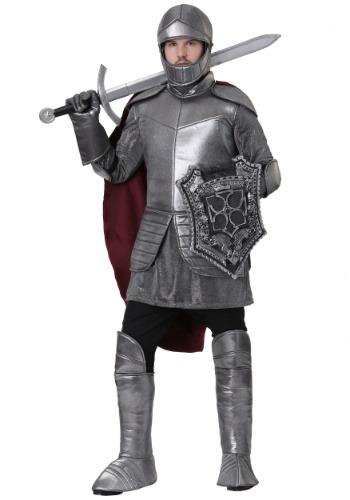 Fantasia masculino de Royal Knight Plus Size – Men's Royal Knight Plus Size Costume