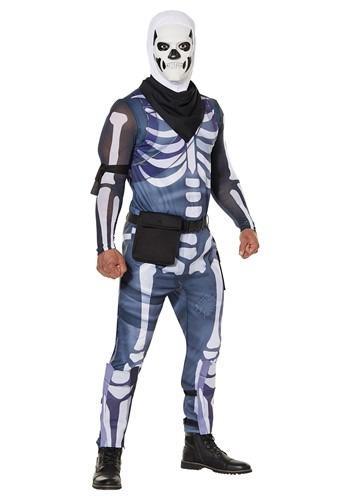 Fantasia masculino de Trooper Crânio Fortnite – Fortnite Men's Skull Trooper Costume