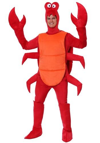 Fantasia masculino de caranguejo Plus Size – Men's Crab Costume Plus Size