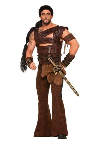 Fantasia masculino de guerreiro medieval plus size – Men's Medieval Warrior Plus Size Costume