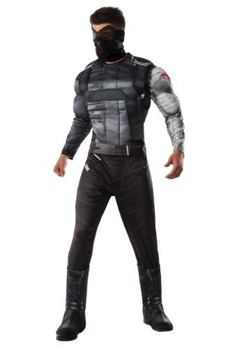 Fantasia  masculino de luxo soldado de inverno da guerra civil – Men's Deluxe Civil War Winter Soldier Costume