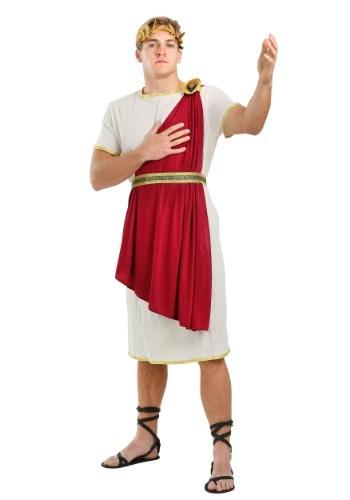 Fantasia masculino de senador romano plus size – Men's Roman Senator Plus Size Costume