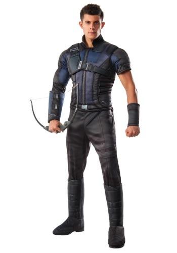 Fantasia masculino deluxe da guerra civil Hawkeye – Men's Deluxe Civil War Hawkeye Costume