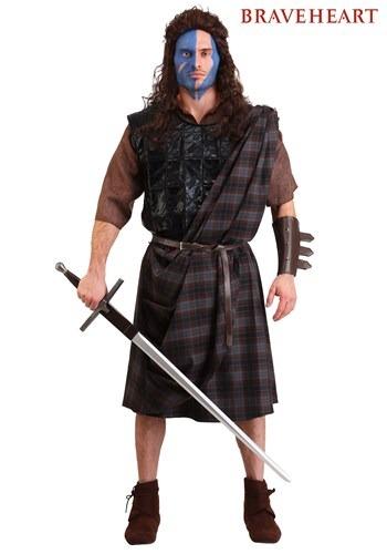 Fantasia masculino plus size Braveheart Classic – Plus Size Braveheart Classic Men's Costume