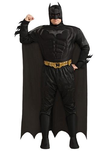 Fantasia masculino plus size do Batman – Men's Plus Size Batman Costume