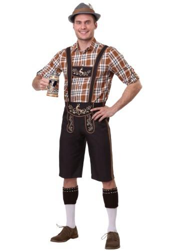 Fantasia masculino plus size do Oktoberfest Stud – Men's Plus Size Oktoberfest Stud Costume