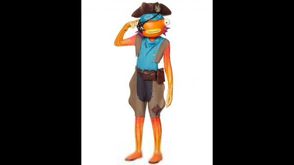 Fantasia para meninos em bastão de peixe (pirata)  Fortnite – Boys Fishstick (Pirate) Costume  Fortnite