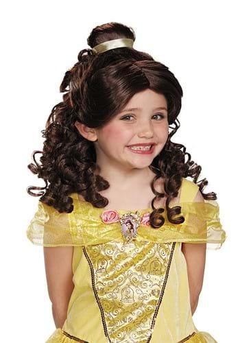 Peruca A Bela e a Fera Belle para Crianças – Beauty and the Beast Belle Wig for Kids